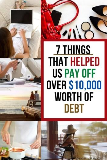 help pay off debt