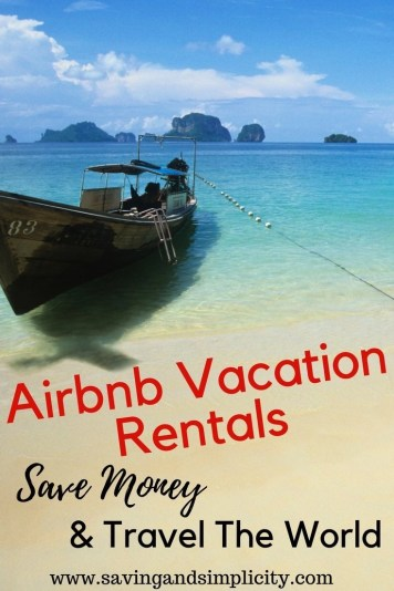 Airbnb vacation rentals are becoming one of the most sought after accommodations on the market.You can rent an apartment, house or villa by the sea for about the same price if not cheaper than a hotel rental. Plan your family vacation or holiday, save money, relax and unwind. Bonus savings included.