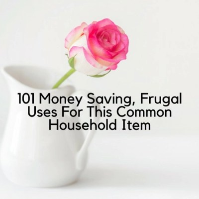 101 Money Saving, Frugal Uses For This Common Household Item
