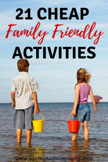 Are you planning a no spend weekend? Are you trying to save money on family fun activities. Learn 21 fun things to do on a no spend weekend.