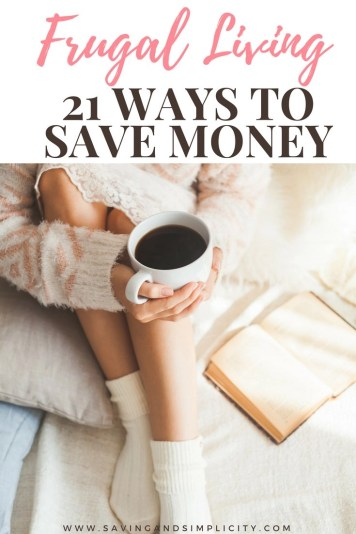 Start saving money on your household expenses. Are you saving money for a vacation, or to put a down payment on a home? Or are you looking for ways make your hard earned money stretch just a little bit farther to make it all work. Frugal living 21 ways to save money.