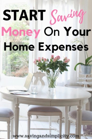 21 ways to save money. Learn how to save money on your home expenses. Saving money just got easier. Learn to stress less, save money and live more.