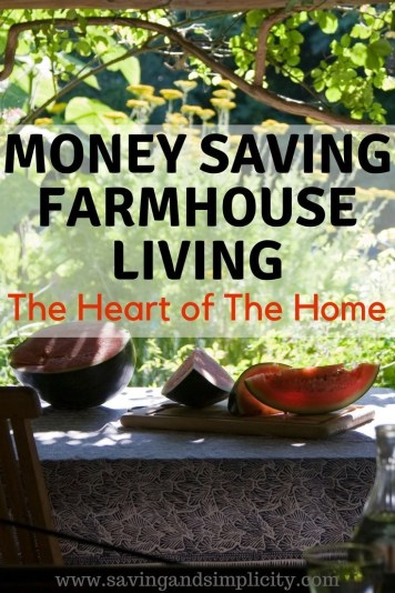 Farmhouse living and frugal living go hand in hand. Find rustically simple, money saving farmhouse style decor that fits your budget. Make your house a home