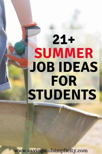 Summer jobs are a great way to earn extra cash. Learn 21+ summer jobs for students and adults that you can start today. Start earning more money.