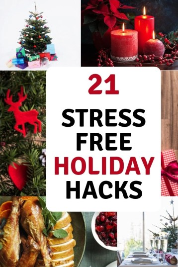 stress free holiday hacks