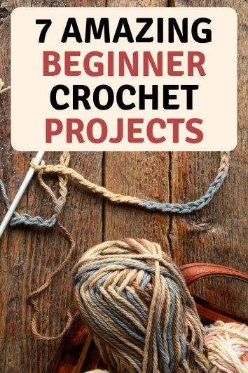 7 amazing crochet patterns for beginners. Hats, scrafts, blankets slippers and more. Crochet for yourself or give as gifts.