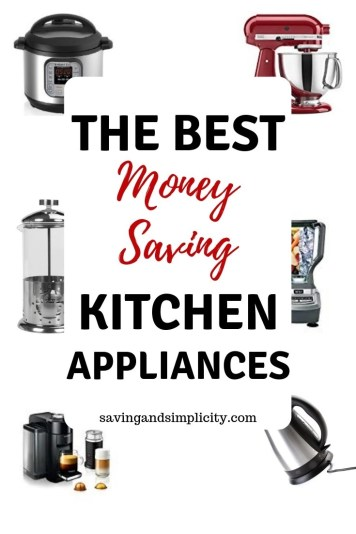 The best kitchen appliances. We are talking the must have money savers. Appliances that save you time and help get dinner on the table. Some of the best.