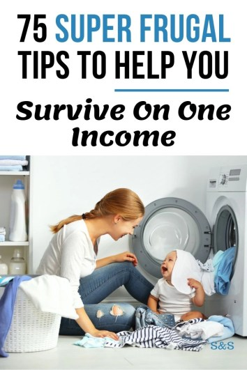 thrive in a single income household