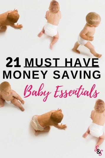 Are you pregnant or know someone who is expecting? Learn the 21 must have money saving baby items. Items that will help moms stress less and save money.