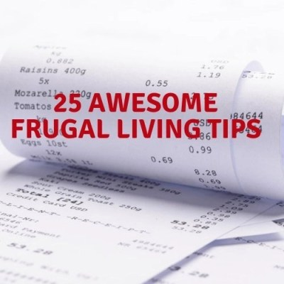 25 Awesome Frugal Living Tips