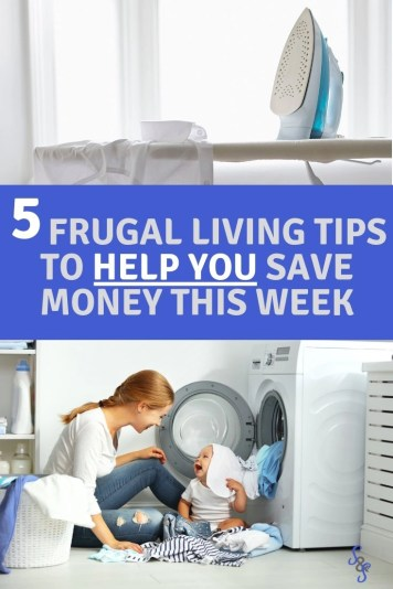 Frugal five. What five simple frugal things will you do this week to save money? Learn the 5 simple things we did to help save money on your home expenses.