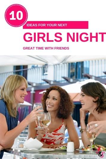 ideas for girls night