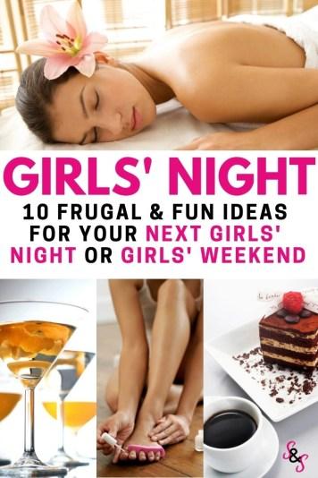 plan an amazing girls night