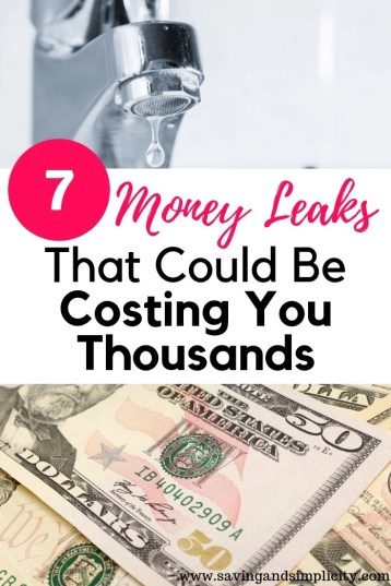 Are there money leaks in your spending?Learn seven of the most common leaks that are costing you thousands and strategies to help you get ahead.