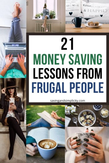 money saving lessons