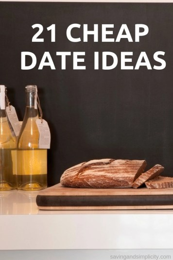 Are you struggling to come up with cheap date ideas? Look no further we have 21 great date ideas that will cost you next to nothing including the babysitter