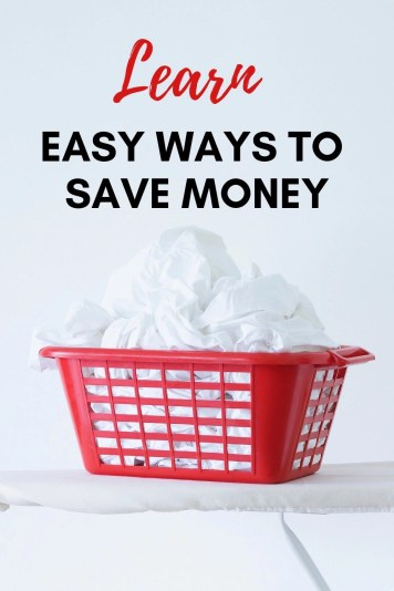 The budget is tight and you need to save money now! A few simple changes and you can cut your spending right away. Learn 5 easy ways to save money.