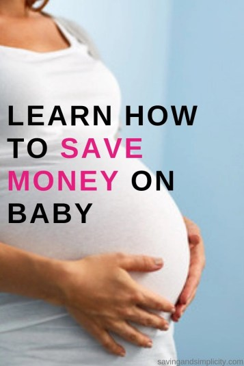 Let's face it having a baby can get expensive. When you add in all the must haves, with the wants and all the suggestions.  Learn about saving money on baby.