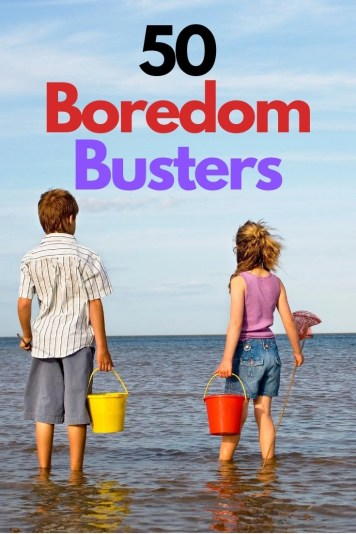 50 free activities for kids that don't involve the television or electronics. Boredom busters. Fun actvities that won't cost you a dime. Hours of play time.