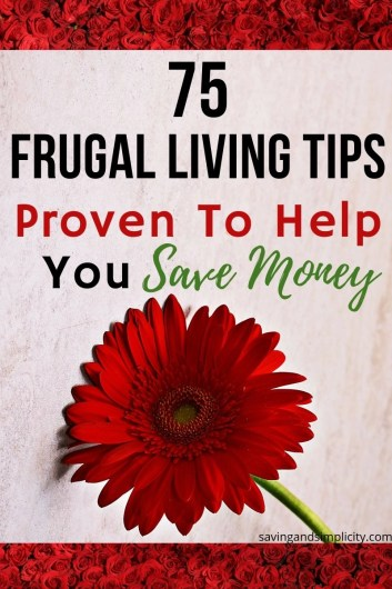 Home is where the heart is. It can also be an expensive place to be. Learn how to cut your household expenses with these 75 super frugal living tips.
