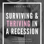 survive and thrive in recession