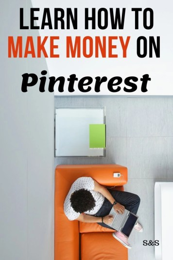 Are you looking for a way to make money from home while your kids are in school? Learn how to make money (full time income) on Pinterest. Step by step tips and instructions.