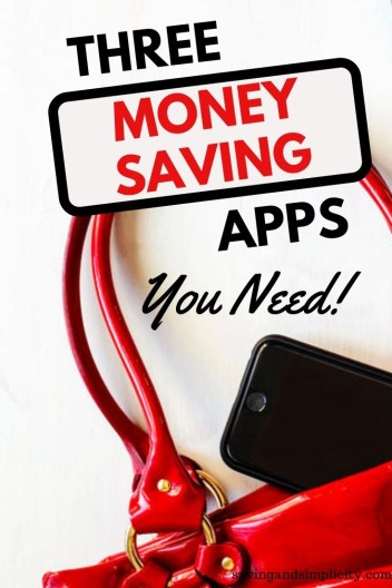 Are you looking for simple and easy ways to save a lot of money?  Take a look at three must have money saving apps you need to get to help you cut your household expenses and save money.