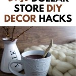 We all want an amazing looking home. Discover some of the best dollar store decor hacks and DIY your way to a great looking frugal home.