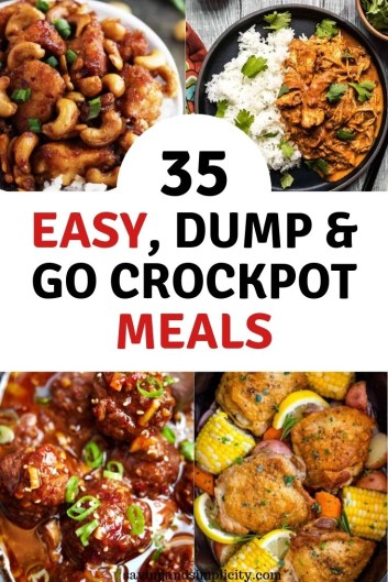 easy to prepare Crockpot meals