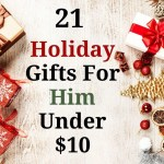 21 gifts for him under $10. Stocking stuffers, Christmas gifts, secret Santa gifts and more. Keep your holidays on budget with these amazing gifts under $10