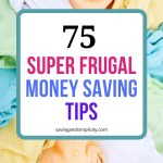 75 super frugal tips