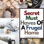 secret must haves frugal home
