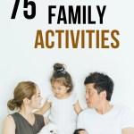 cheap family activities