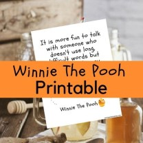 Winnie The Pooh is a classic children's character. He embodies simplicity and fun. There is nothing complicated about Winnie The Pooh. Simply put, simple is best. We have created a great Winnie The Pooh printable for you to download and enjoy.