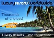 7-Night Luxury Vacation Only $395!  Choose from Over 500 Resorts!