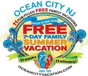 Win a Week-Long Vacation to Ocean City NJ!