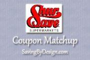 ShurSave Coupon Matchups 1/6 – 1/12