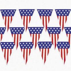 patriotic pennant