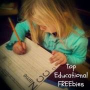 Top Educational FREEbies 5/9
