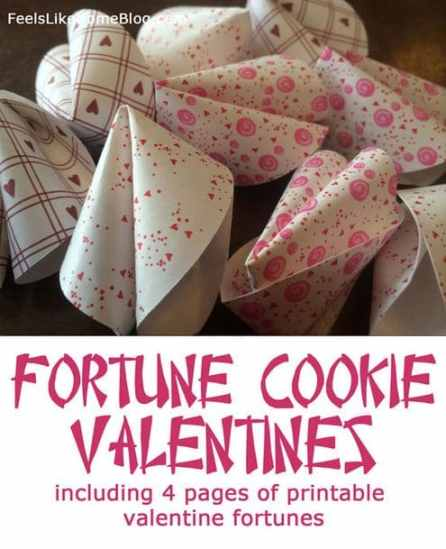 fortune cookie valentines