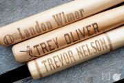 Pick Your Plum:  Kids Personalized Wooden Baseball Bats Only $14.99!