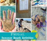 10 Frugal Summer Beach Activities
