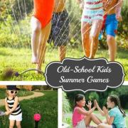 13 Old-School Summer Games for Kids