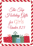 Top Gifts for Girls Under $25