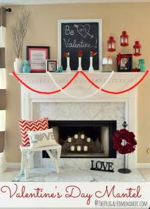 Valentine's Day Mantels You'll LOVE!