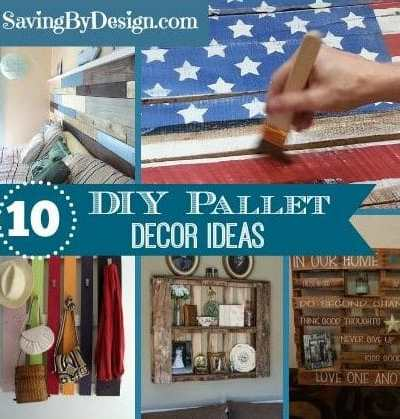 10 DIY Pallet Decorating Ideas – Perfect for Your Home or as Gifts!