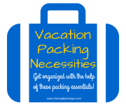 10 Vacation Packing Necessities to Keep You Organized