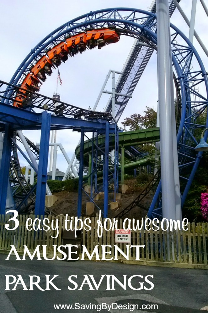 Ready to spend a fun-filled day at a theme park, but not ready for the drain on your wallet? Check out these 3 easy tips for amusement park savings!