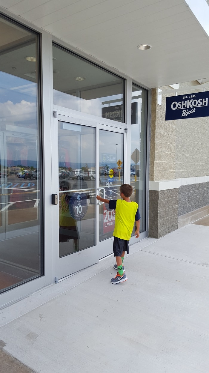 back to school with OshKosh B'gosh