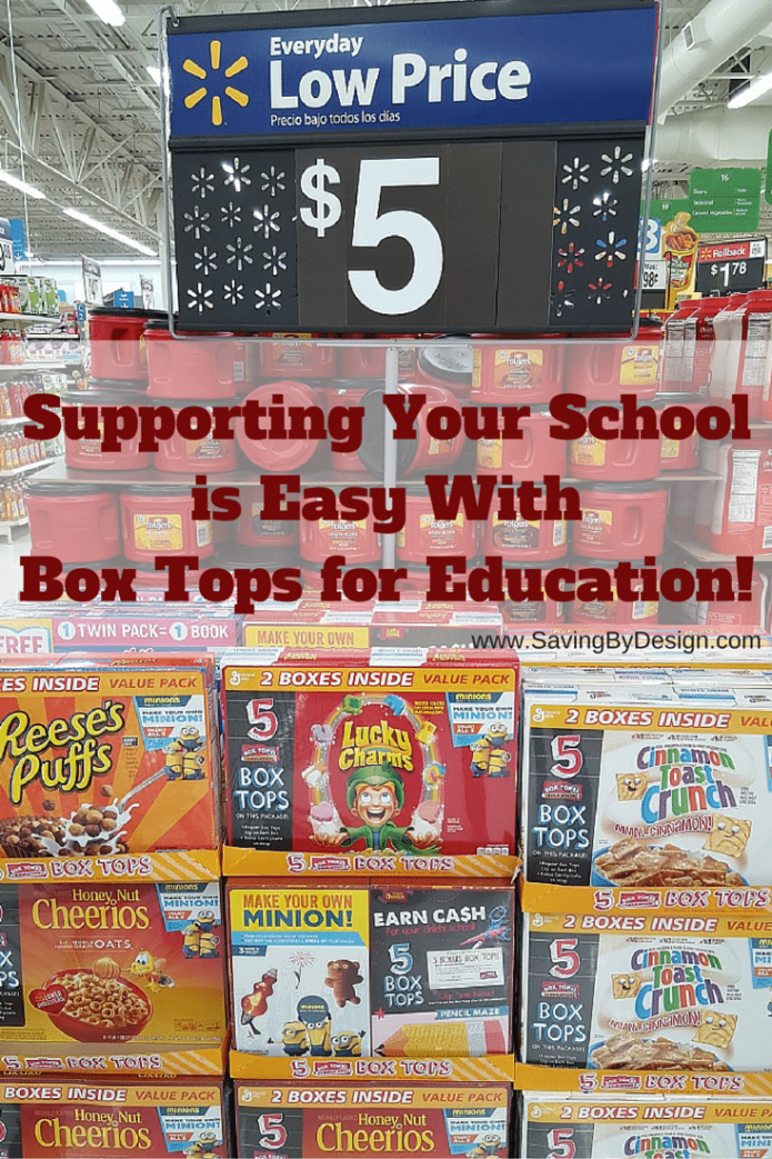Supporting Your School is Easy With Box Tops for Education